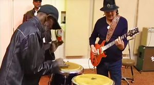 Carlos Santana Jams With Former Bandmate For First Time In 40 Years—They've Still Got It!