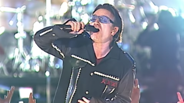 16 Years Ago: U2 Used Their Entire Super Bowl Performance To Honor