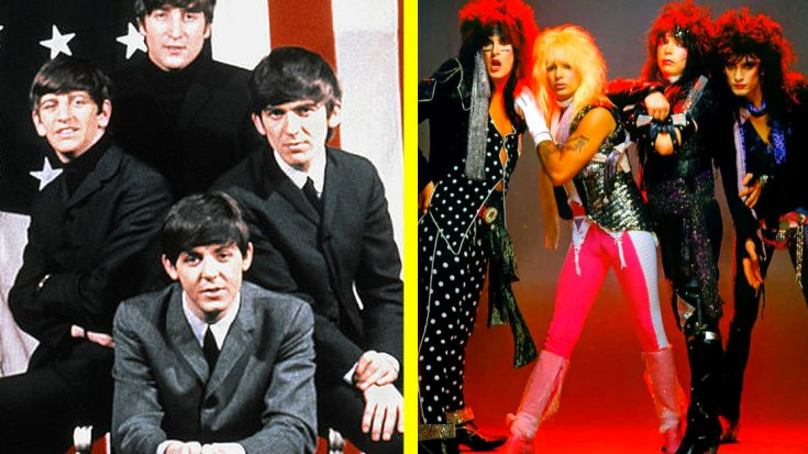 """Someone Just Mashed Up The Beatles' """"A Hard Day's Night"""" With Mötley Crüe's """"Girls, Girls, Girls"""" 