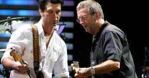 "Student Meets Teacher When Doyle Bramhall II Joins Eric Clapton For Fiery ""Crossroads"" Jam"