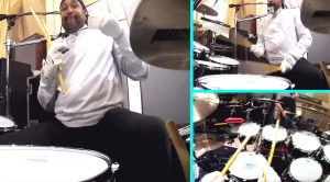 What Happens When You Attach A GoPro Camera To Dave Matthew's Drummer? See For Yourself