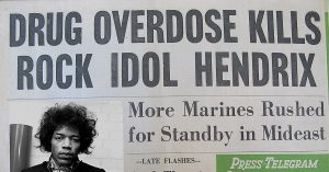 46 Years Ago This Week: Jimi Hendrix Dies At 27, And This Is How The News Reported It