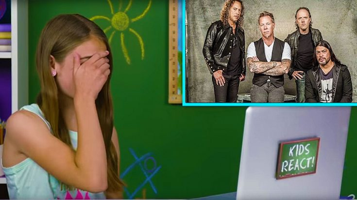 Kids React To Music : kids reacting to metallica is the single most depressing thing you ll see all day society of rock ~ Vivirlamusica.com Haus und Dekorationen