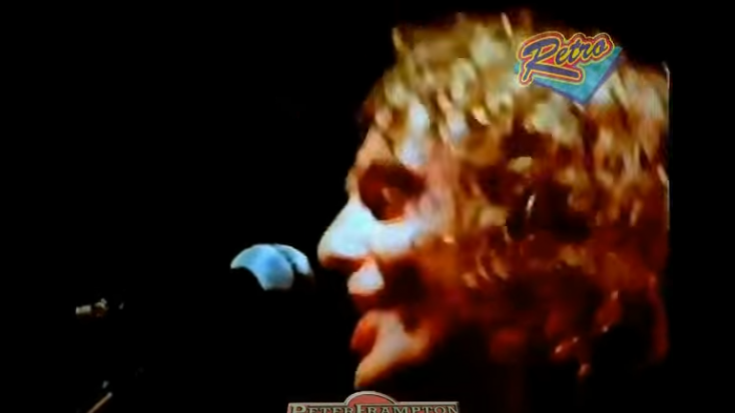"Nothing Feels As Good As Peter Frampton's Live Performance Of ""Do You Feel Like We Do"" Sounds 