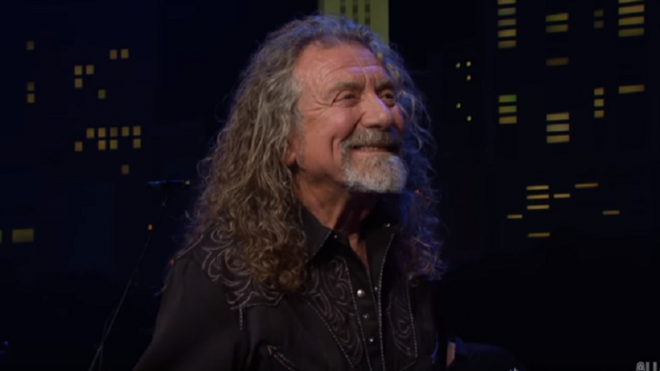 """Robert Plant Shocks Crowd With New, Unique Spin On """"Black Dog""""—Still Sounds Marvelous! 