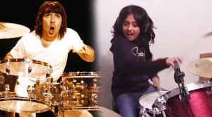 "9-Year Old Rips Unbelievable Cover Of The Who's ""The Real Me""—Keith Moon Would Be Proud!"
