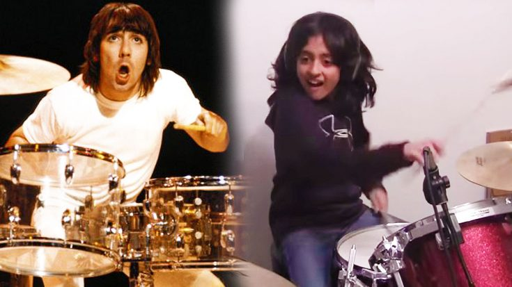 """9-Year Old Rips Unbelievable Cover Of The Who's """"The Real Me""""—Keith Moon Would Be Proud! 