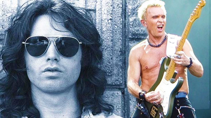 """Billy Idol Channels Jim Morrison's Iconic Voice For Chilling Cover Of The Door's """"LA Woman""""! 