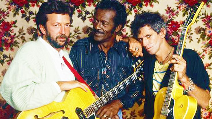 Looking Back: Chuck Berry, Keith Richards & Eric Clapton Engage In The Most Epic Jam Session You'll Ever See! | Society Of Rock Videos