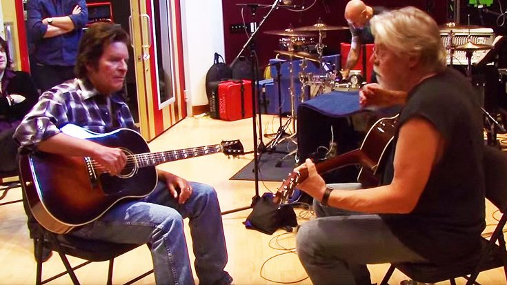 Exclusive, Rare Studio Footage Shows Bob Seger And John Fogerty Recording This All-Time Classic! | Society Of Rock Videos