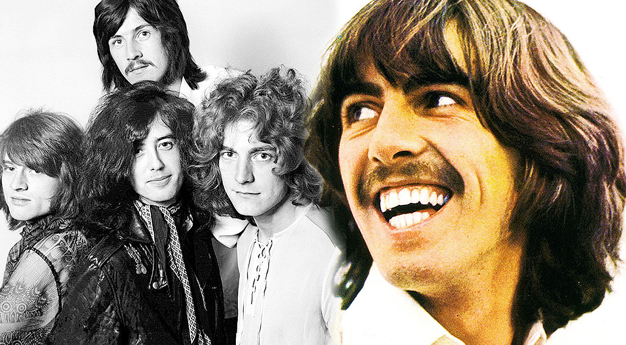 Beatle's George Harrison Reacts To Hearing Led Zeppelin 1 For The First Time, And It's Priceless!