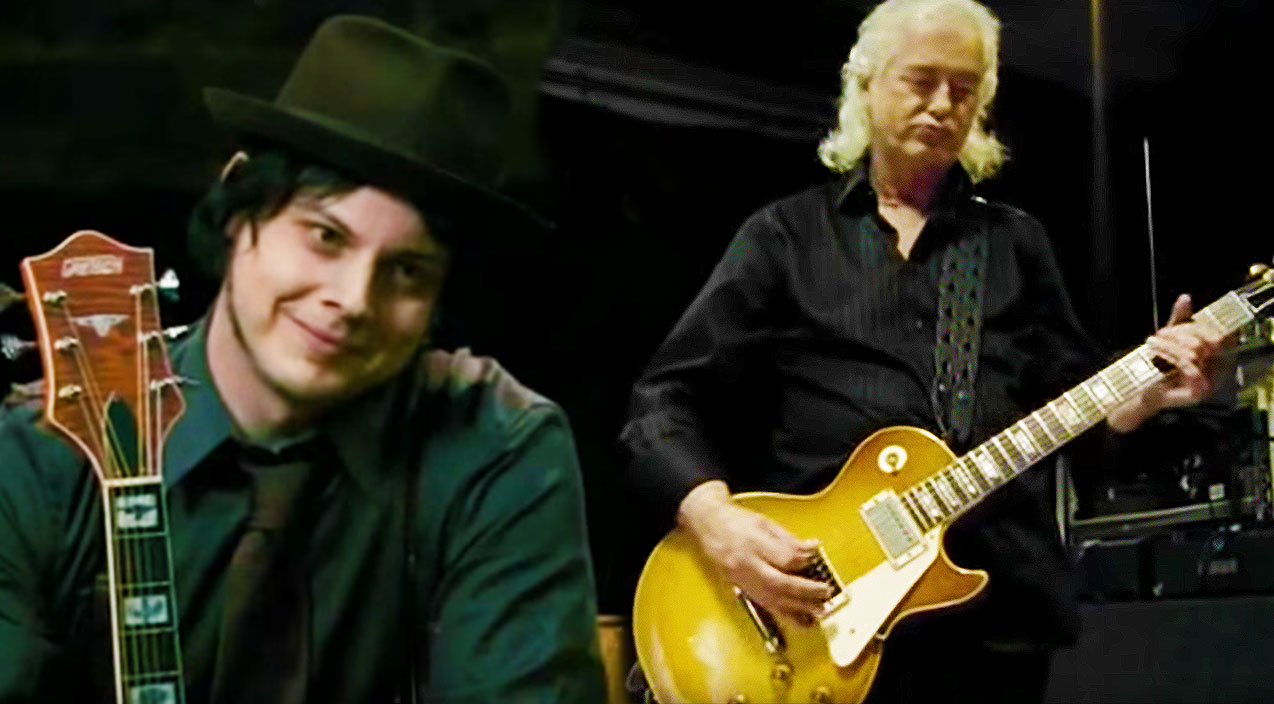 Jimmy Page Schools Two Other Legendary Guitarists On How To Play Whole Lotta Love Society