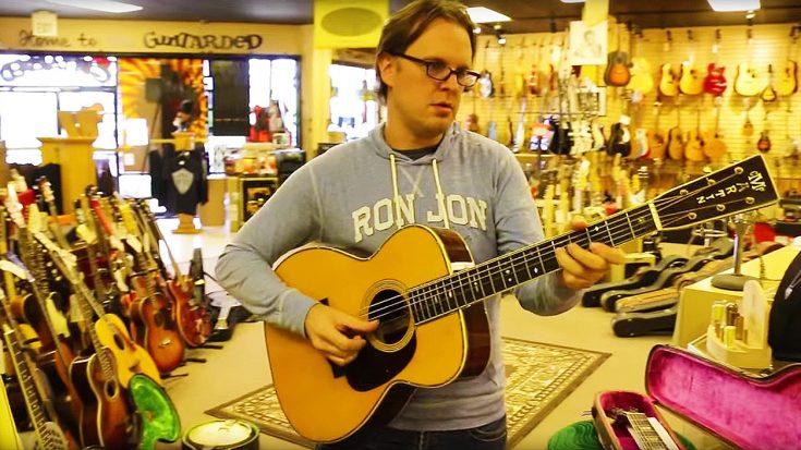 Joe Bonamassa Picks Up A Rare Acoustic Guitar—People Instantly Start Filming | Society Of Rock Videos