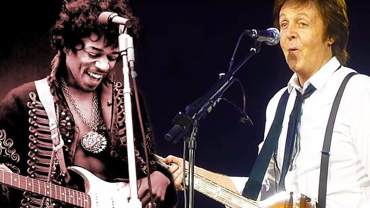 Paul McCartney Stops Concert To Share Hilarious, Untold Story About Jimi Hendrix And Eric Clapton!   Society Of Rock Videos