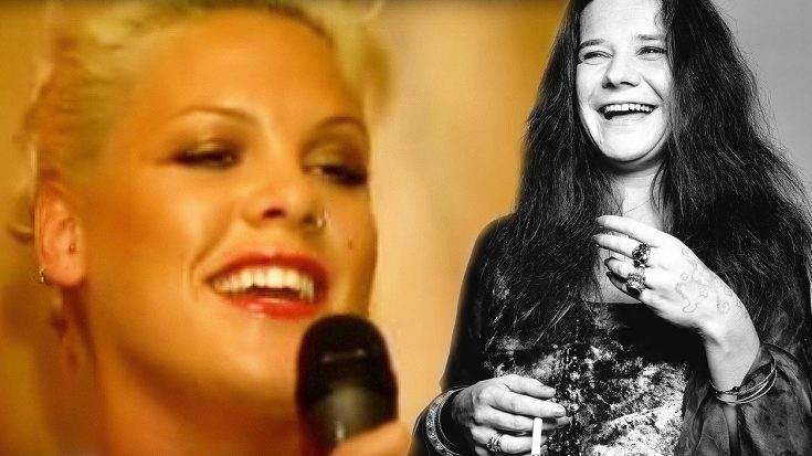 Pink Pays Tribute To Janis Joplin With Mercedes Benz