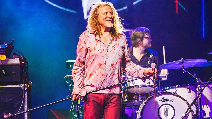 """Robert Plant Shocks Crowd With New, Unique Spin On """"Black Dog""""—Still Sounds Marvelous!   Society Of Rock Videos"""