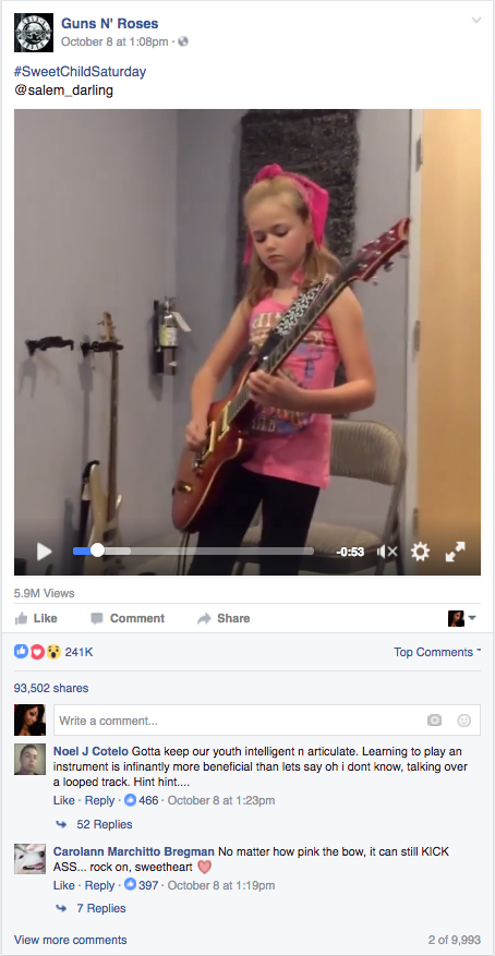 photo credit: Facebook via Guns N' Roses Official