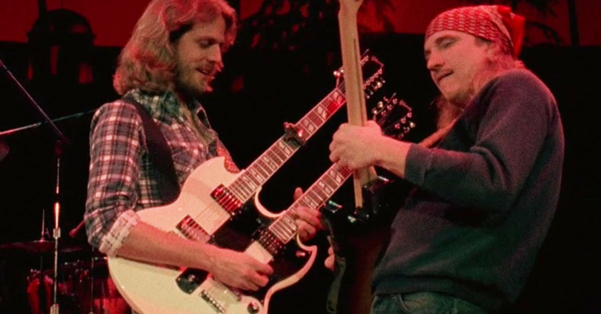 No One Rocks Harder Than Joe Walsh As He Gets Down With