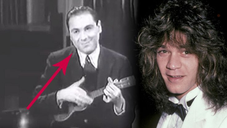 The Internet Is Insisting That This Man Is Eddie Van Halen's Father… And The Proof Is In This Video | Society Of Rock Videos