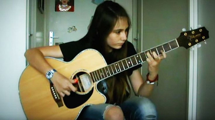 what happens when this 11 year old girl plays living on a prayer