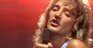 "Is It Hot In Here, Or Is It Just Rod Stewart In This 1976 Performance Of ""Tonight's The Night""?"