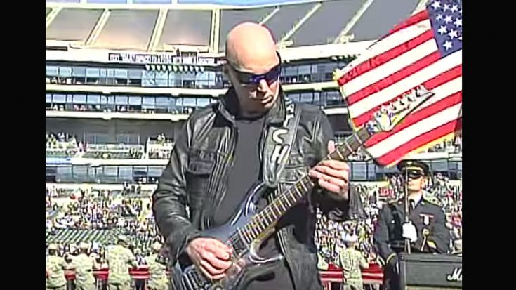 Joe Satriani Is Asked To Perform The National Anthem – He Then Leaves This Audience Stunned | Society Of Rock Videos