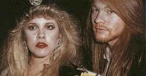 Get Ready To Laugh At Stevie Nicks' Surprising Connection To Axl Rose