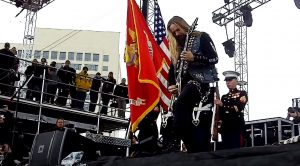 Zakk Wylde Is Brought Onstage To Perform The Star-Spangled – Proceeds To Stun Entire Audience