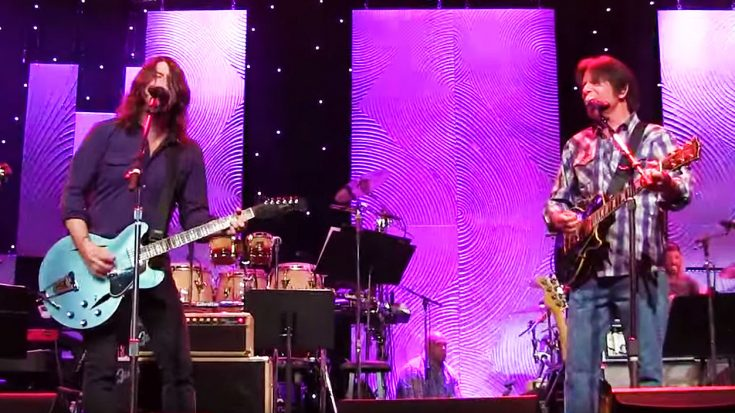 Exclusive Rehearsal Footage Of John Fogerty And The Foo Fighters Jamming Out To This CCR Classic! | Society Of Rock Videos