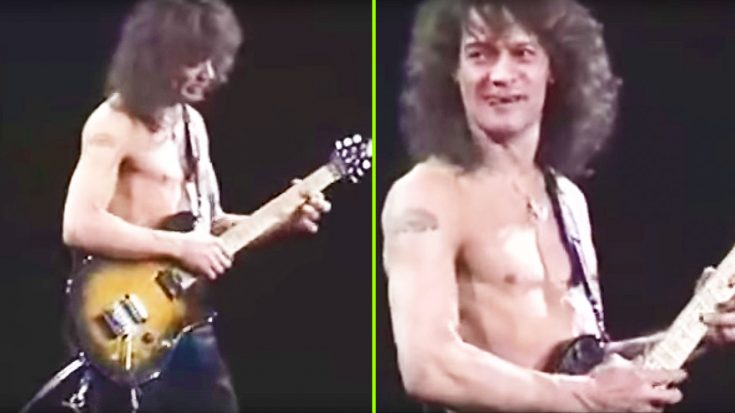 Eddie Van Halen Leaves Crowd With Their Jaws On The Floor After Ripping Impossible Guitar Solo! | Society Of Rock Videos