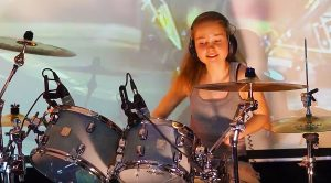 "14-Year Old Nails Phenomenal Drum Cover Of Led Zeppelin's ""Fool In The Rain""—Listen To That Solo!"