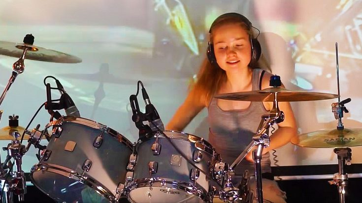 14-Year Old Nails Phenomenal Drum Cover Of Led Zeppelin's