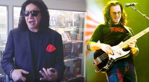 Gene Simmons Expresses His Love For Rush, And Does Hilarious Spot-On Impression Of Geddy Lee!