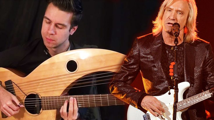 """This Enchanting Harp Guitar Cover Of """"Hotel California"""" Is Like Nothing You've Ever Heard Before! 