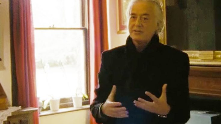 Jimmy Page Revisits The Historic Site Where This Legendary Led Zeppelin Song Was Originally Recorded! | Society Of Rock Videos