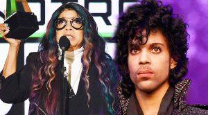 "Watch Prince's Sister's Inspiring, Tearful Speech At The AMAs After ""Purple Rain"" Wins Prestigious Honor!"