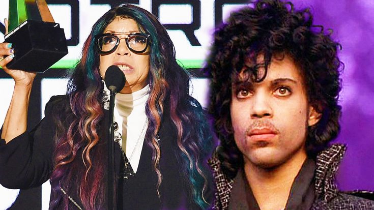 "Watch Prince's Sister's Inspiring, Tearful Speech At The AMAs After ""Purple Rain"" Wins Prestigious Honor! 