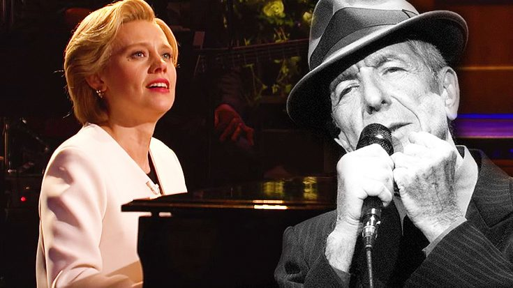 Saturday Night Live's Chilling And Emotional Tribute To Leonard Cohen Will Make You Tear Up! | Society Of Rock Videos
