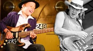 11-Year Old Tackles This Stevie Ray Vaughan Classic And Shreds Jaw-Dropping Solo!