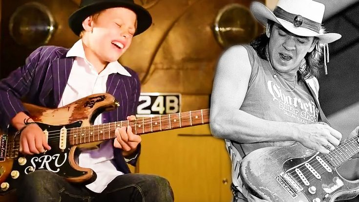 11-Year Old Tackles This Stevie Ray Vaughan Classic And Shreds Jaw-Dropping Solo! | Society Of Rock Videos