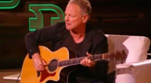Lindsey Buckingham Is Given A Guitar On A Talk Show, But Did Something With It That No One Expected…