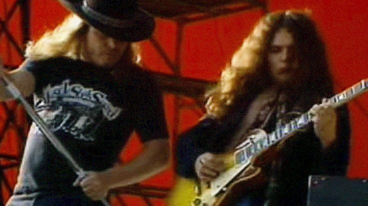 """Flashback To Lynyrd Skynyrd's Career Defining Knebworth Performance Of """"Call Me The Breeze"""" 