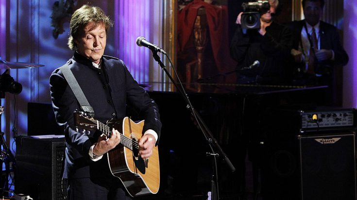 "Paul McCartney Performs ""Hey Jude"" At The White House, But No One Expected This Ending 