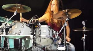 Teenage Girl Turns 'Listen To The Music' Into A Drum Fueled Masterpiece! | Drum Cover