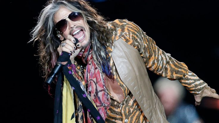 "Country Music Takes A Backseat In Steven Tyler's Hard Rockin' ""Sweet Emotion"" Performance, Live In Vegas 