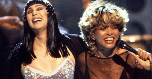 "Flashback To That Time Cher And Tina Turner Danced It Up To ""Proud Mary"" On Live Television"