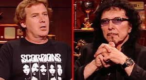 Tony Iommi Is Asked One Simple Question That He Just Can't Formulate An Answer To…