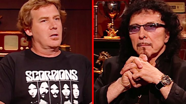 Tony Iommi Is Asked One Simple Question That He Just Can't Formulate An Answer To… | Society Of Rock Videos