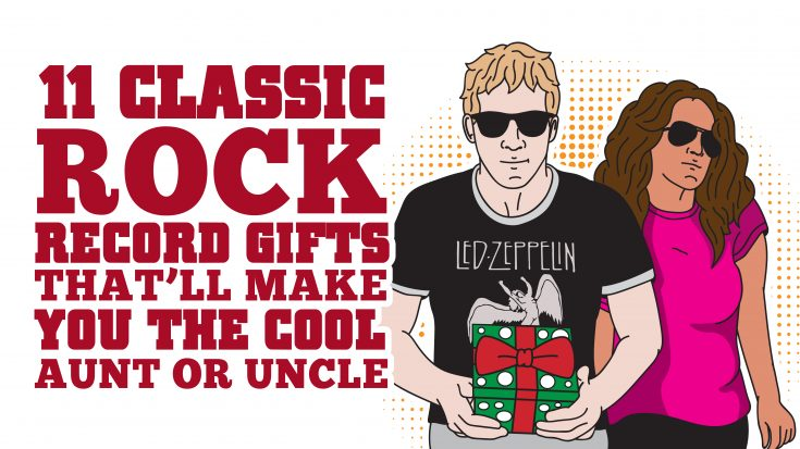 11 Classic Rock Record Gifts That'll Make You The Cool Aunt Or Uncle | Society Of Rock Videos