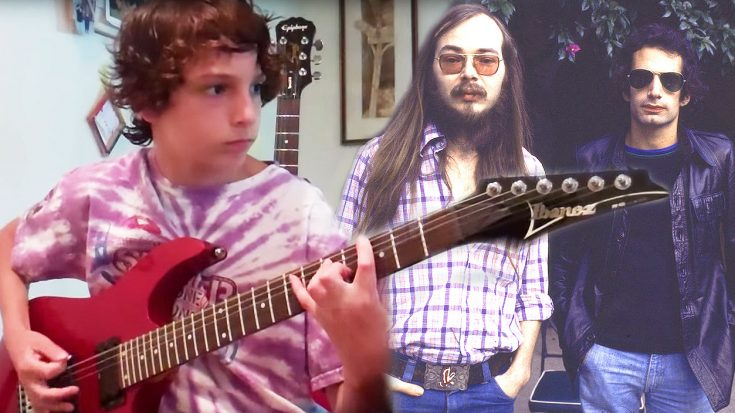 "Ring In 2017 With This Young Kid's Insane Cover Of Steely Dan's ""Reelin' In The Years!"" 